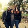 Pierre, Nichole & Me in the Garden