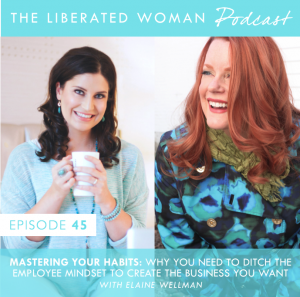 THE LIBERATED WOMAN PODCAST ELAINE WELLMAN AMBER CHALUS b